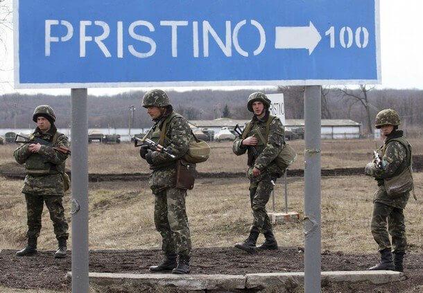 ВКосово милиция задержала шестерых граждан России