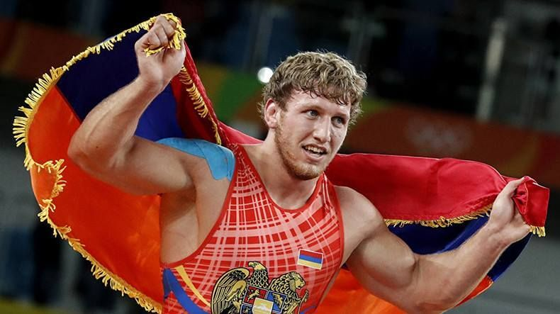 Житель россии Евлоев взял сереброЧМ погреко-римской борьбе