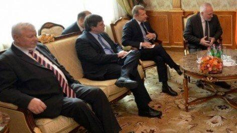 Новый сопредседательМГ ОБСЕ отСША встретился вКарабахе сглавой сепаратистов
