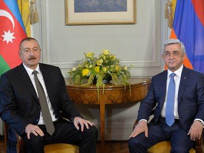Руководителя Армении иАзербайджана обсудят карабахский вопрос наследующей неделе вЖеневе