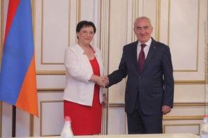 Армения и Израиль имеют исторические общности: вице-спикер Кнессета Израиля в Ереване