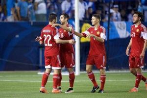Наставник сборной Армении вызвал на подготовку к игре с румынами и поляками 23 игроков