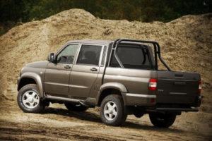 УАЗ Pickup стал самым популярным пикапом в России в августе