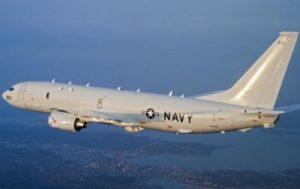 К Крыму приблизился самолет-разведчик ВМС США
