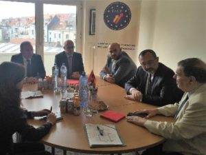 Министр иностранных дел НКР отправился в Бельгию