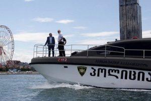 США передадут в дар Грузии два пограничных корабля