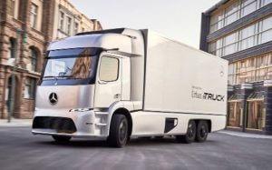Городской электрогрузовик от Mercedes-Benz будет модульным