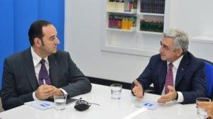 Серж Саргсян посетил Общественную телекомпанию Армении