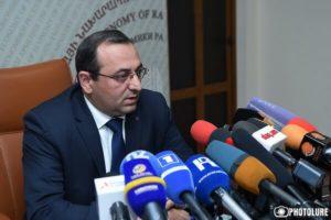 СМИ: Арцвик Минасян не будет переназначен на должность министра экономики