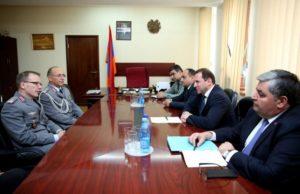 В Ереване состоялись ежегодные армяно-германские переговоры по военному сотрудничеству
