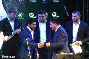 Ucom подарил армянским олимпийцам квартиры и презентовал уникальную в регионе сеть 4G+