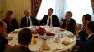 Министр ИД представил Еврейскому комитету Америки Нагорно-Карабахский конфликт