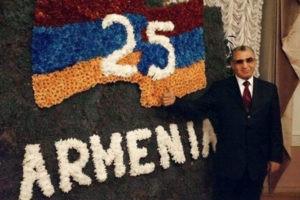 Торжественный прием по случаю 25-летия независимости Армении прошел в Киеве
