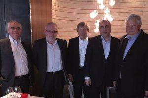 Мамедъяров встретился с сопредседателями Минской группы ОБСЕ