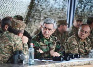 Серж Саргсян возьмет на себя командование Вооруженными силами