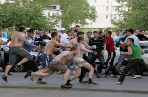 Граждане Армении участвовали в массовой драке в Москве, есть раненые