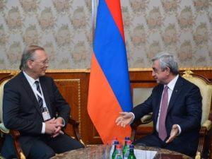 Президент: Армения всесторонне стимулирует развитие науки