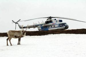 Под Уренгоем разбился вертолет c 20 пассажирами