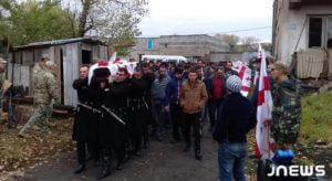 В Грузии состоялись похороны солдата Акопа Малхасяна