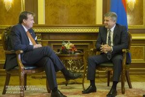 Армения придает большую важность развитию сотрудничества с США