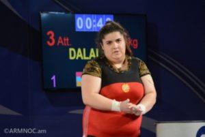 Арпине Далалян завоевала бронзовую медаль юношеского ЧМ по тяжелой атлетике