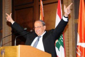 Новым президентом Ливана стал христианский политик Мишель Аун