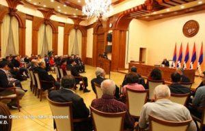 Президент НКР принял участников Всеармянской конференции журналистов
