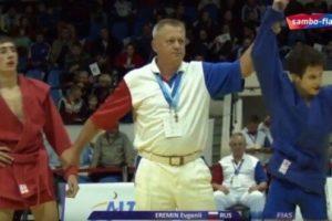 Армянские самбисты завоевали первую медаль на юношеском и молодежном чемпионате мира в Румынии