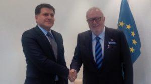 С президентом ПАСЕ обсуждалась инициатива «нет ненависти, нет страху»