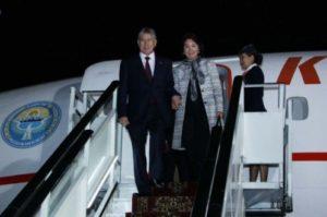 Президент Киргизии прибыл в Ереван