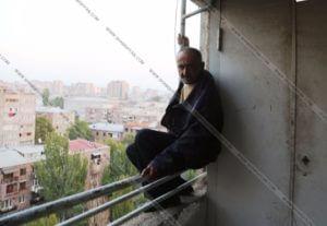 Мужчина грозился броситься с высотки в Ереване из-за непрекращающегося преследования