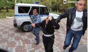 Убийцу молодого парня в Ереване доставили на следственный эксперимент