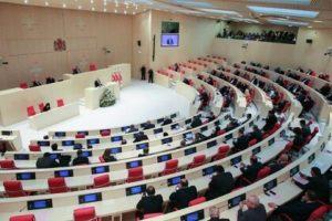 В парламент Грузии проходит 3-я сила