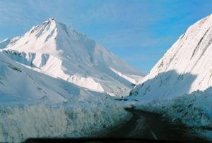 Верхний Ларс закрыт из-за снегопада