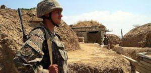 ВС Азербайджана применили пулеметы ДШК на карабахском направлении