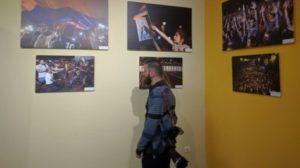 Дни, последовавшие за захватом полка ППС в кадрах: Фотовыставка
