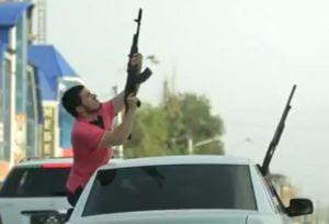 Кавказцы устроила стрельбу перед гостиницей «Россия» в Санкт-Петербурге