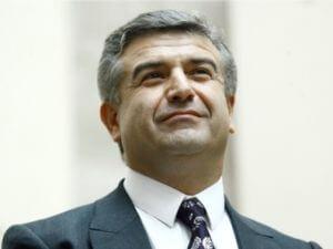 Премьер Армении отбудет в Беларусь