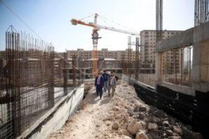 Вардан Арутюнян посетил стройплощадку учебно-спортивного комплекса