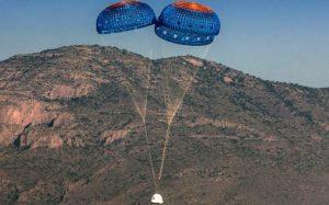 Blue Origin испытает систему эвакуации экипажа с New Shepard (Видео)