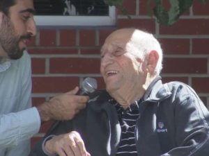 110-летний Алексан Маркарян на мероприятии в Лос-Анджелесе рассказал о Геноциде армян