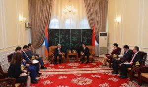 Армяно-китайские отношения в последний период переживают подъем – Саргсян
