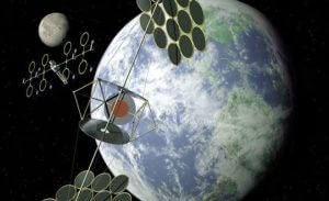 Японская компания создает антенну для получения энергии из космоса