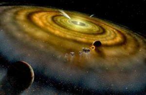 Астрономы обнаружили звезду с тремя планетными «роддомами»
