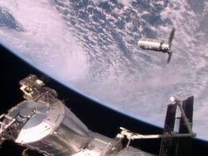 Транспортный грузовой корабль Cygnus пристыковался к МКС