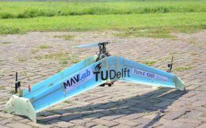 Дрон DelftAcopter – гибрид вертолета и самолета (Видео)