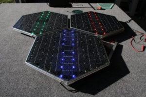 В США впервые испытали дорожное покрытие из солнечных панелей