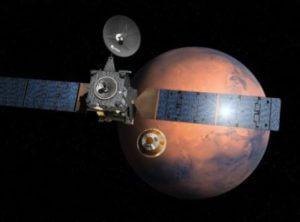 Зонд TGO передал на Землю первые снимки Марса