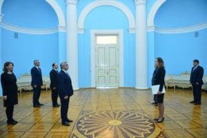Президент Армении принял верительные грамоты посла Эстонии
