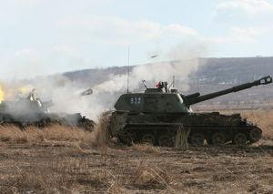 Проведены соревнования по артиллерийским расчетам и специалистов-артиллеристов
